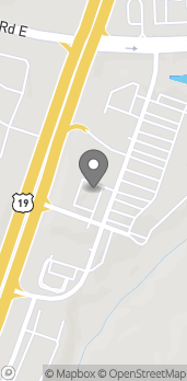 Mapa de 166 Crossroad Blvd en Dawsonville