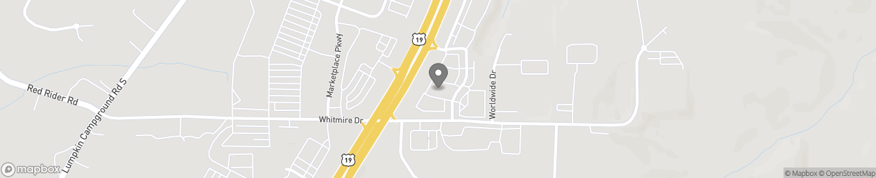 Map of 45 Bethel Drive in Dawsonville