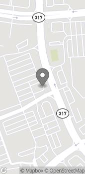 Mapa de 3230 Lawrenceville Road en Suwanee