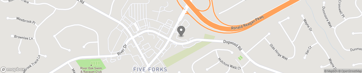 Map of 2930 Five Forks Trickum Rd in Lawrenceville