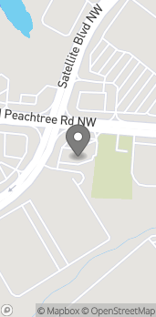 Map of 1160 Old Peachtree Road in Duluth