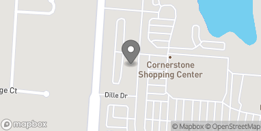 Map of 5283 Cornerstone N Blvd in Dayton
