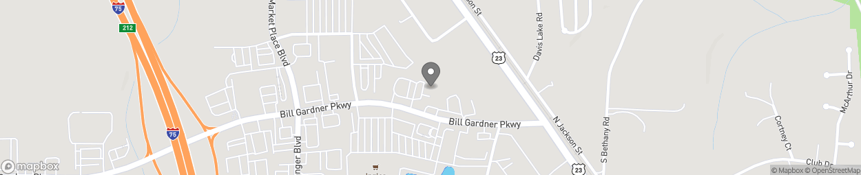 Map of 4999 Bill Gardner Park in Locust Grove