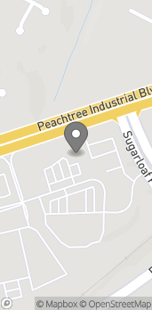 Map of 2190 Peachtree Industrial Blvd in Duluth