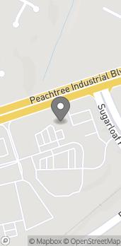 Mapa de 2190 Peachtree Industrial Blvd en Duluth