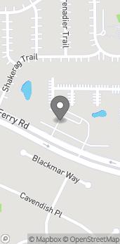 Mapa de 8020 McGinnis Ferry Road en Suwanee