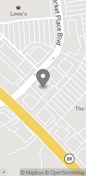 Mapa de 906 Market Place Blvd en Cumming