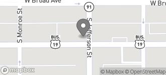 Map of 401 W. Oglethorpe Blvd in Albany