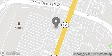 Map of 3630 Peachtree Pkwy in Suwanee