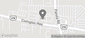 Map of 6102 Covington Highway in Decatur