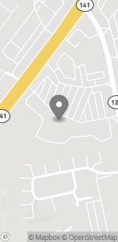 Mapa de 10820 Abbotts Bridge Road en Johns Creek