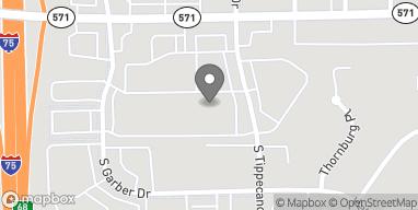 Map of 11 S Tippecanoe in Tipp City