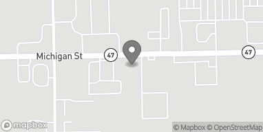 Map of 2489 Michigan Street in Sidney