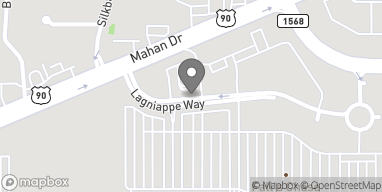 Map of 4036 Lagniappe Way in Tallahassee