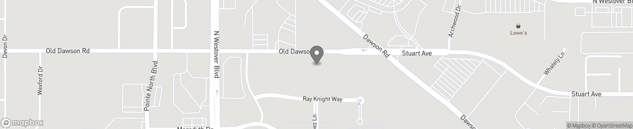 Map of 2800 Old Dawson Rd in Albany
