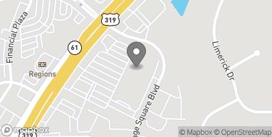 Mapa de 3521 Thomasville Road en Tallahassee