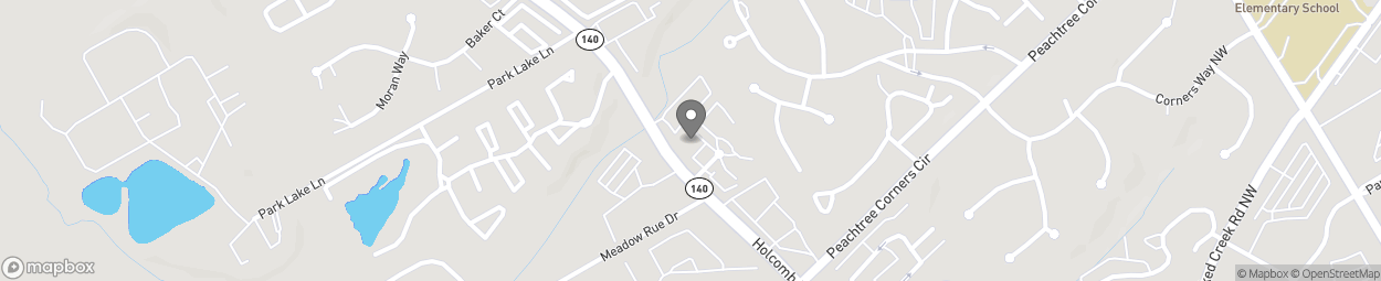 Map of 3730 Holcomb Bridge Rd in Norcross