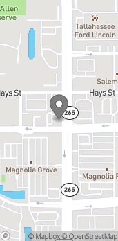Map of 100 N Magnolia Dr in Tallahassee