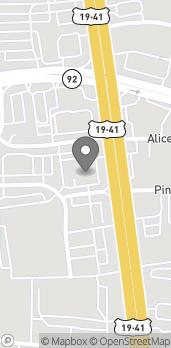 Mapa de 1447 N Expressway en Griffin