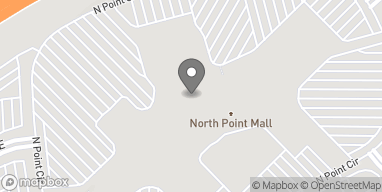 Mapa de 1000 N Point Circle en Alpharetta