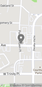 Map of 245 W Ponce DeLeon Ave in Decatur