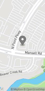 Mapa de 7900 N Point Pkwy en Alpharetta