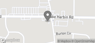 Map of 2347 Lake Harbin Road in Morrow