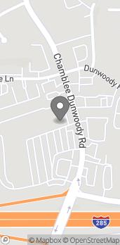 Map of 4516 Chamblee Dunwoody Road in Dunwoody