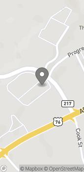 Mapa de 2800 Scenic Dr en Blue Ridge