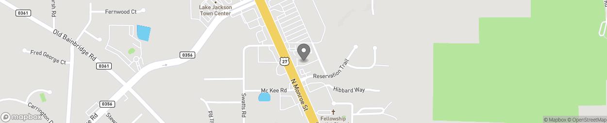 Map of 3767 N Monroe Street in Tallahassee