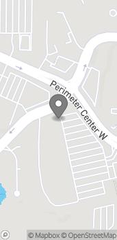 Mapa de 136 Perimeter Center W en Atlanta