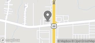 Map of 1405 Moreland Ave SE in Atlanta