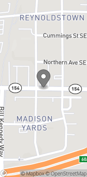 Map of 945 Memorial Dr SE in Atlanta