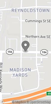 Mapa de 945 Memorial Dr SE en Atlanta