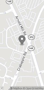 Mapa de 12330 Crabapple Rd en Alpharetta