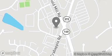 Map of 12330 Crabapple Rd in Alpharetta