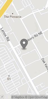 Mapa de 3431 Lenox Road NE en Atlanta