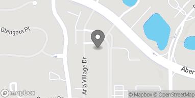 Mapa de 6500 Aria Blvd en Sandy Springs