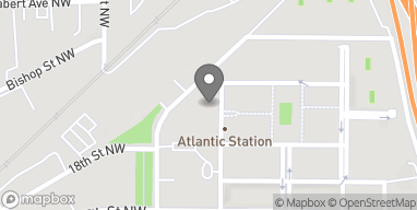 Map of 1380 Atlantic Drive in Atlanta