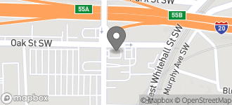 Map of 538 Lee Street S.W. in Atlanta