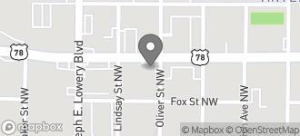 Map of 860 Bankhead Hwy in Atlanta