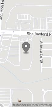 Mapa de 3162 Johnson Ferry Rd en Marietta