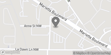 Map of 2260 Marietta Blvd NW in Atlanta