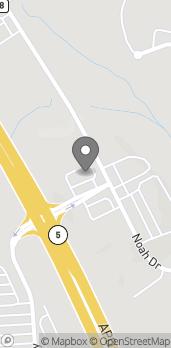 Mapa de 61 Melissa Parkway en Jasper