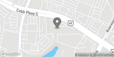 Map of 2980 Cobb Pkwy in Atlanta