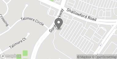 Mapa de 2960 Shallowford Rd en Marietta