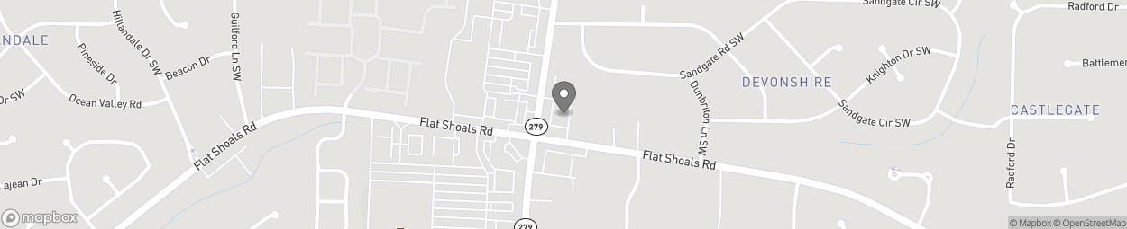 Map of 6100 Old National Highway in College Park