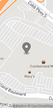 Map of 1000 Cumberland Mall in Atlanta