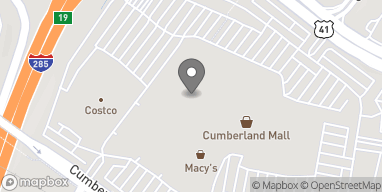Mapa de 1000 Cumberland Mall en Atlanta
