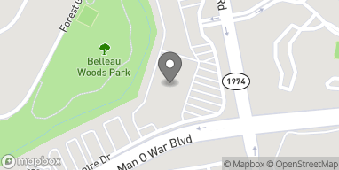 Map of 4101 Tates Creek Centre Dr in Lexington